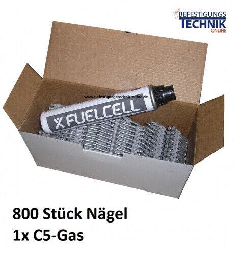Gas für Powers Dewalt C5 Würth Diga CS 2 Betonnagler Betonnägel 2,6x25mm