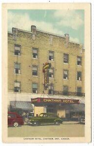 Kent-County-CHATHAM-ONTARIO-Chatham-Hotel-Circa-1952