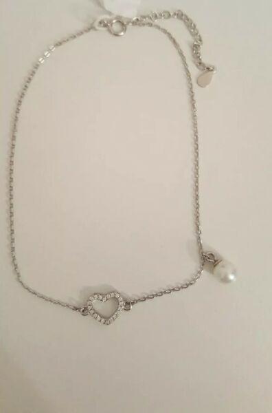 Fusskettchen 925er Silber Juwelkerze *neu* Vertrieb Von QualitäTssicherung