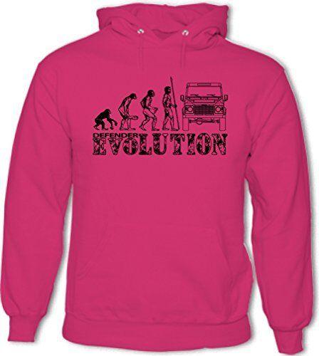 Evolution Mens Funny Hoodie 90 110 127 SVX 4X4 Off Road Defenders Rover