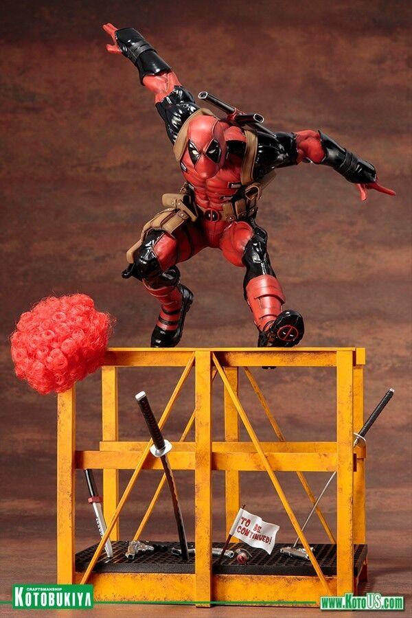 Marvel jetzt super für deadpool 1   6 - skala artfx statue px kotobukiya
