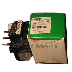 Schneider Thermal Overload Relay LRD3363C 63-80A