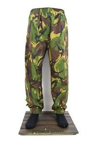 Genuine-Dutch-Army-Goretex-Trousers-Pants-Waterproof-Over-Trouser-Wet-Weather