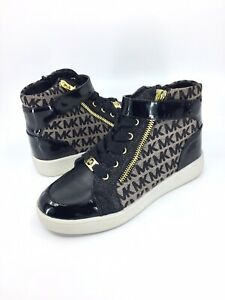 Michael Kors PACEY Black High Top Shoes