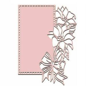 Flower Lace Frame Metal Cutting Dies Scrapbooking Album DIY Card Embossing DIY