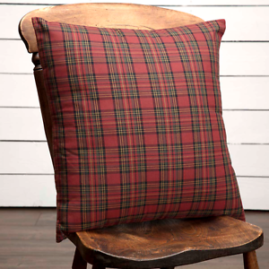 Miraculous Details About Primitive Country Rustic Large 18 X 18 Farmhouse Tartan Red Plaid Pillow Customarchery Wood Chair Design Ideas Customarcherynet