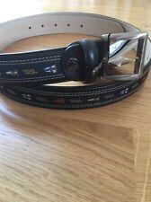 Paul & Shark Leather Belt 110cm BNWT
