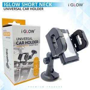 Iglow Universal Windshield Car Phone Holder Grip Mount For Mobile Phone Uk Stock Ebay