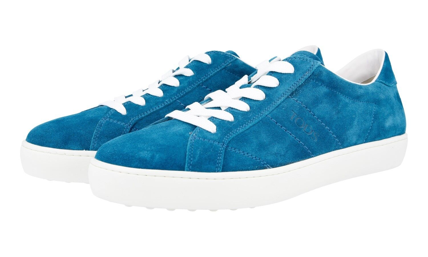 AUTHENTIC TODS SNEAKERS SHOES ALLACIATO TURQUOISE NEW US 9