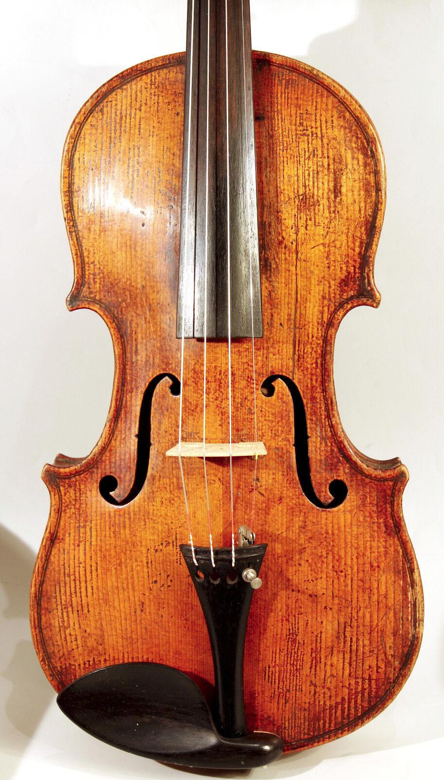 Schöne französische Geige Caussin Schule- nice french violin Caussin school