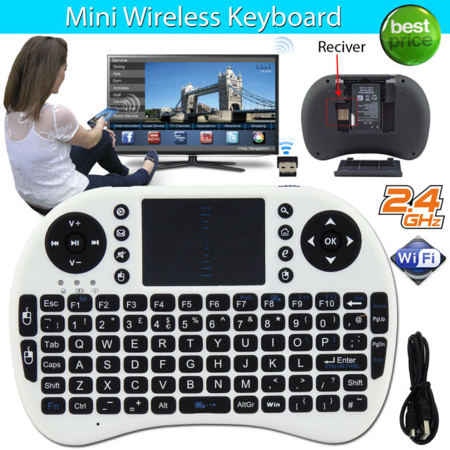 2.4G Mini Wireless Keyboard Mouse Touchpad For Android Smart TV Box PC