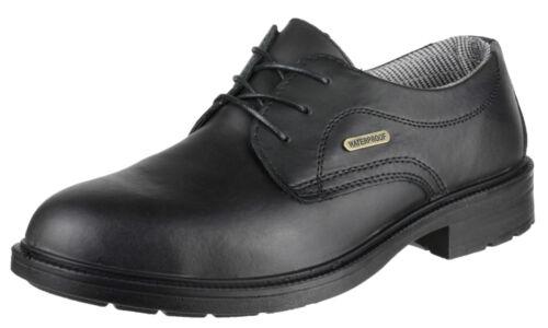 Amblers FS62 Gibson Safety Steel Toe Cap Waterproof Mens Industrial Shoe UK6-14
