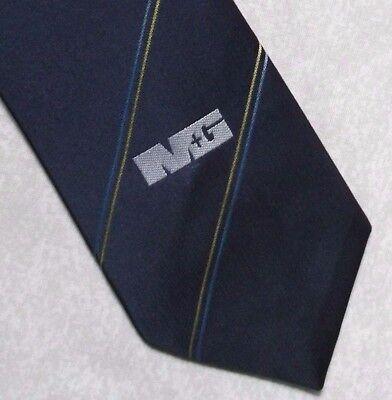 Diligente Vintage Cravatta Da Uomo Cravatta Crested Club Associazione Società M&g- Prezzo Basso