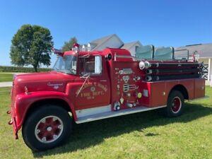 1964 International Fire Truck