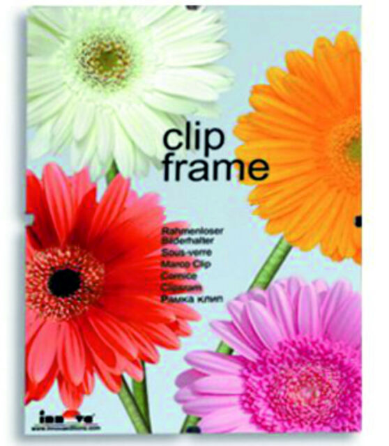 Innova Editions 20 X 25 Cm 10 X 8 Inch Glass Frame For Picture Or