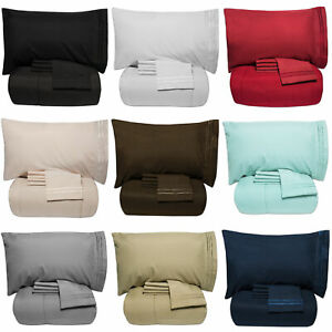 Luxury-5-Piece-Bed-In-A-Bag-Down-Alternative-Comforter-amp-Sheet-Set-12-Colors