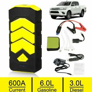Details About 89800mah Car Jump Starter Battery Power Bank Gasoline And Diesel Instantly Start