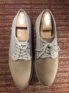 38d7db536fc Mens Nordstrom 1901 Shoes Saddle Up Suede Oxford Tan brown Size 11 M ...