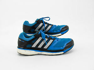 adidas Supernova Glide 6 Boost Men Blue Athletic Running Shoe 10m Pre Owned DQ