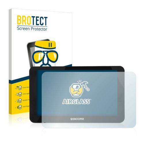 Snooper S6800 Truckmate Pro AirGlass Glass Screen Protector Ultra Thin Film