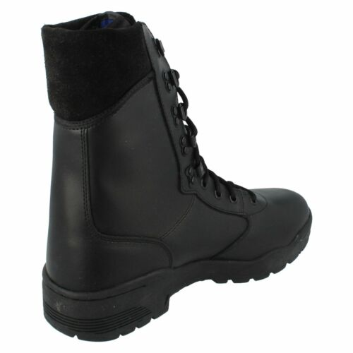 Leather Cen Mens Magnum Black Boots 99 Lace 69 Up di £ 4dwqwZ