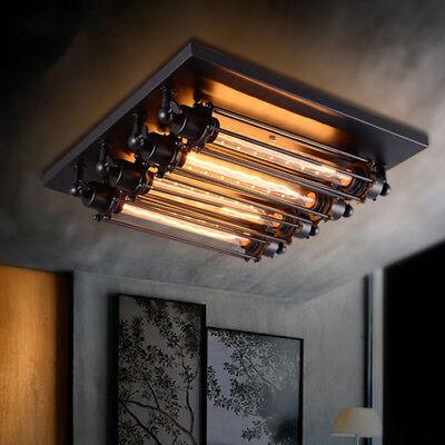 Retro Classics Steampunk Wall Sconce Ceiling Lamp Flush Mount T30 Light Fixture Ebay