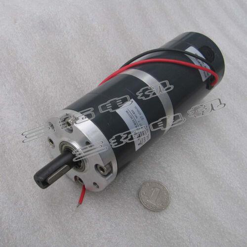 1PCS DC 12V 24V Dia 60mm Planetary Gear Reducing Brush Motor Large Torque