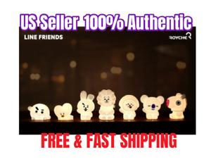 BTS BT21 Mood Silicon Lamp Light Official 100% Authentic Kpop Light US Seller