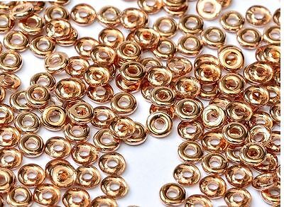 Czech O-Beads® 2.0mm X 4.0mm - 25 grams-O Beads® are Hot!