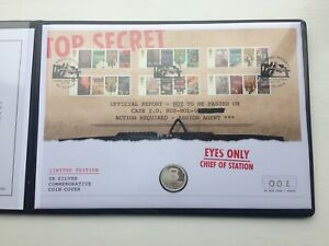 Number 1 Or 500 Ltd Edition Uk Bond 10p Silver Coin Cover And Stamp Set Ebay