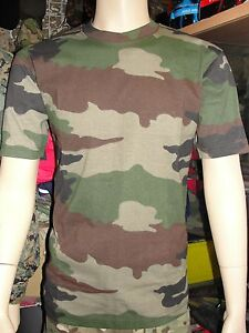 T-shirt-Armee-Francaise-camouflage-Centre-Europe-maillot-cam-c-e-camo-camoufle