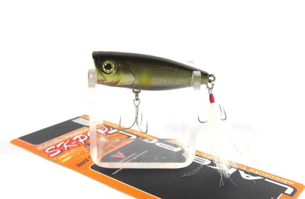 JACKALL x TSURIYOKA Sinking TypeLure 50mm 18g Camouflage Mouse Black Bass