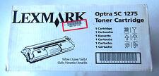 Lexmark Optra SC 1275 Toner Cartridge Yellow 1361754