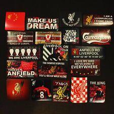 95 x Liverpool Stickers - Based on Poster Programme Shirt Pin Badge Scarf Mug