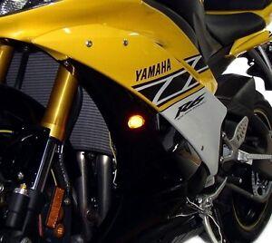 Yamaha Flush Mount LED Turn Signals - FZ6 FZ1 FZ8 FZ6R XJ6 MT10 FZ09 MT09 MT07