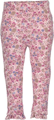 Baby Girls Pink Floral Print Leggings Age 3-6,6-9,9-12-12-18-18-24 Months DS65