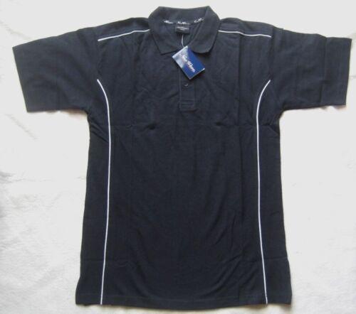 M NEW WAVE Herren Poloshirt in Dunkelblau Gr