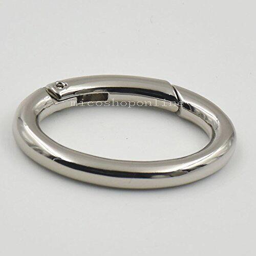 36mm Snap Clip Trigger Spring Gate Oval Ring for Buckle Purse handbag bag D ring
