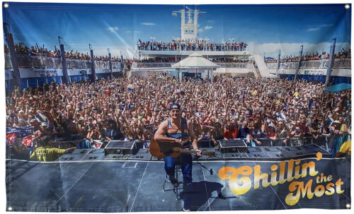 2017 Kid Rock 8th Chillin the Most cruise flag 3x5ft banner US Seller