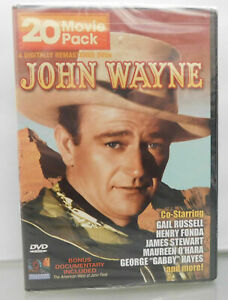 Brand-New-John-Wayne-20-Movie-Pack-4-Disc-Pack-DVD-2005-4-Disc-Set