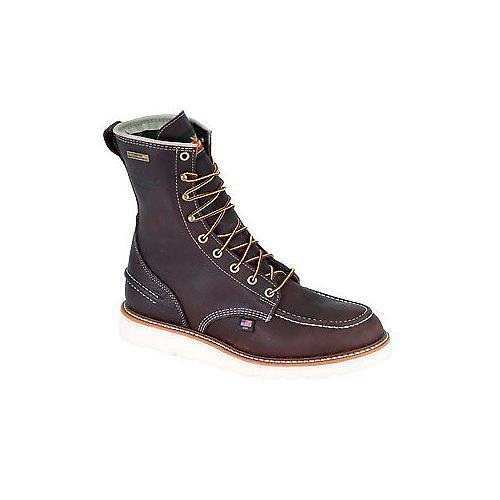 Thorogood 814-3800 American Heritage 8  Moc Toe Wedge Sole WP Soft Toe stivali