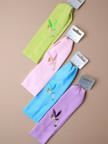 New with Tag Tinkerbell Embroidered Material Headband FREE POSTAGE