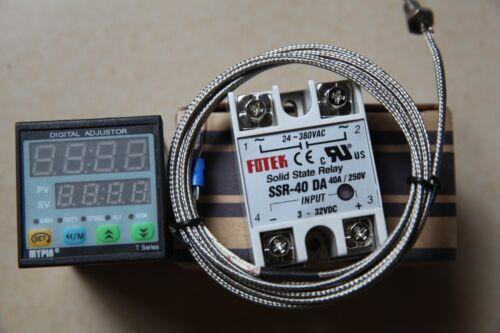 K Sensor+40A DA SSR F//C Manual// Auto-tuning PID Temperature Controller TD4-SNR