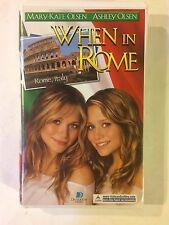 When in Rome (VHS, 2002, Clam Shell Packaging)