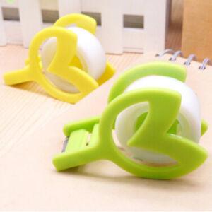 Plastic-Seat-Tape-Holder-Office-Dispenser-Desktop-Cutter-Packaging-Tool-S
