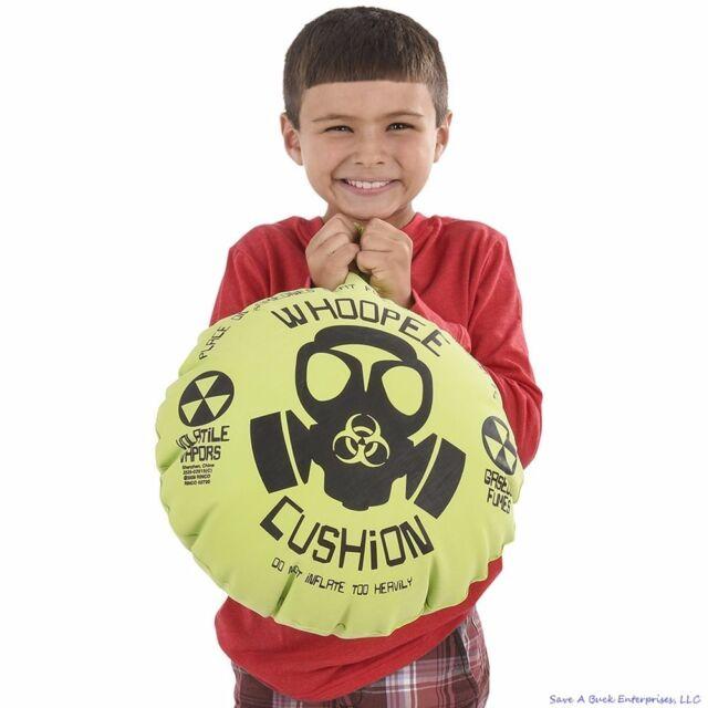 FART MACHINE Push Button Whoopee Cushion Noise Maker Gas Joke Prank 6 Sounds Toy