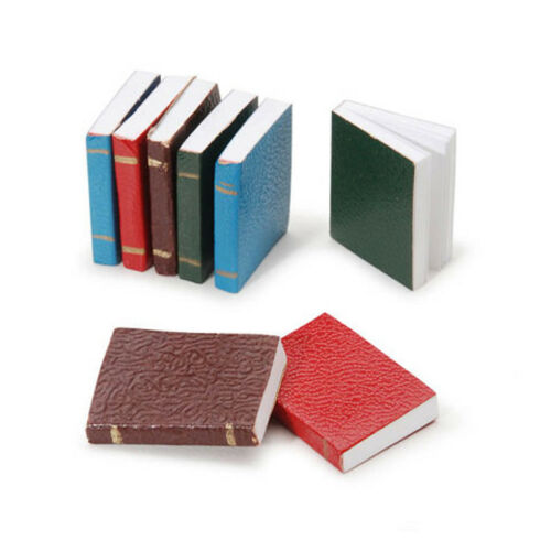 Dollhouse Miniature 1:12 Scale Set of Opening Books
