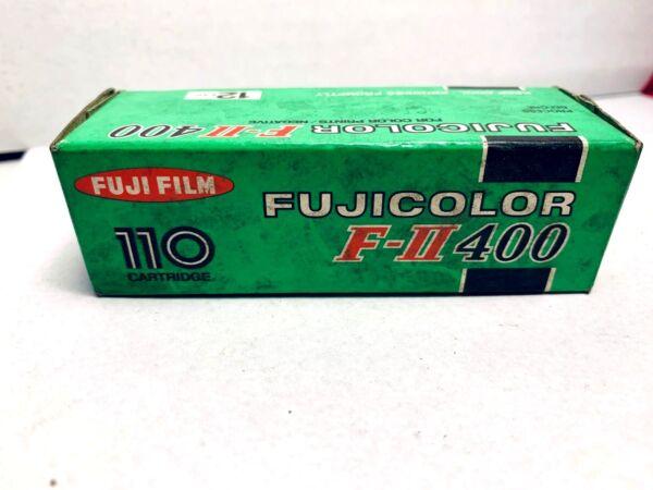Logique Old Stock 35mm Pellicule Photo 10 X Fujicolor F-ii 400 110 12 Film Date Exp Paquet éLéGant Et Robuste