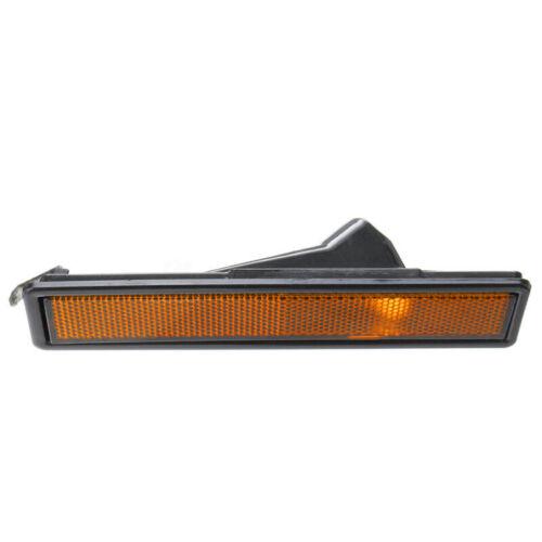 For BMW E30 E32 E34 3 Series L /& R Rear Bumper Side Marker Light Lamp Amber