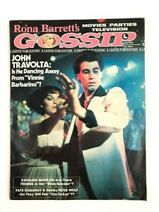 Rona-Barrett-039-s-Gossip-Magazine-April-1978-John-Travolta-Faye-Dunaway-Hollywood